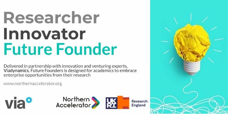 Are you a Future Founder? Training opportunity for academics to develop the commercial potential of research