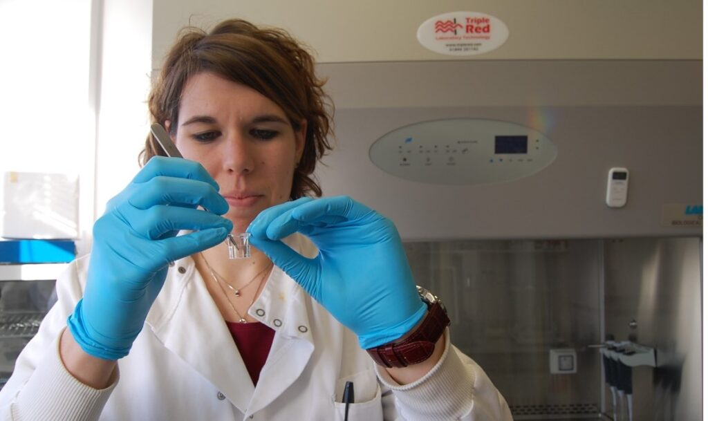 Image of Dr Martina Miotto of CellulaREvolution