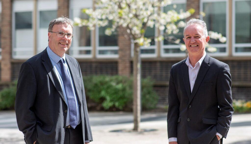 Dr Tim Hammond and David Huntley