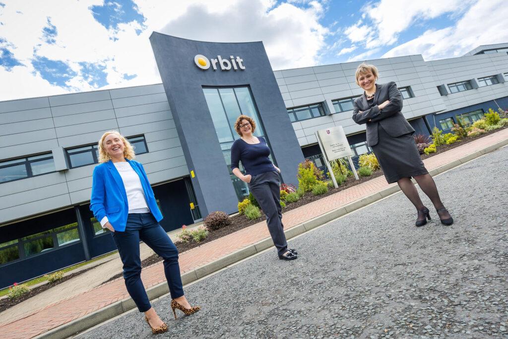 Image of Sophie Walton - CBI, Jenny Taylor - Durham University and Sarah Slaven, Business Durham